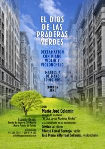 """María José Celemín presenta """"El Dios de las Praderas Verdes"""" en el Ateneo de Valladolid"""