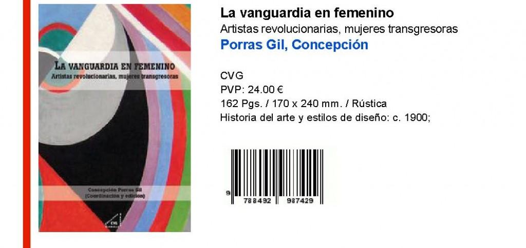 La Vanguardia en Femenino (Libro)