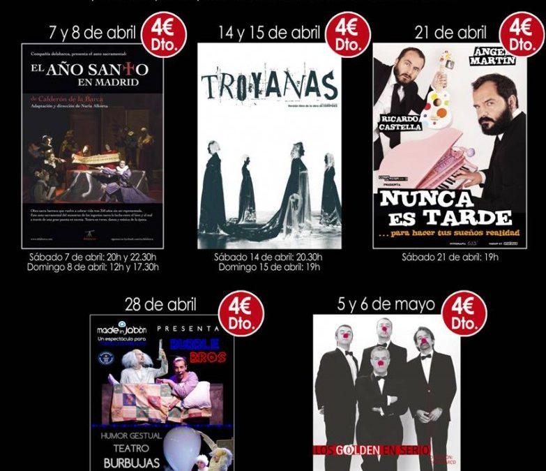 Descuentos Teatro Zorrilla para socios Ateneo